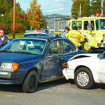 mva strathcona and spruce in friday dave milne oct 3 02 There were no serious injuries in this mva at spruce street  and strathcona around 3pm thursday. Two male drivers wait to talk tom pol ...