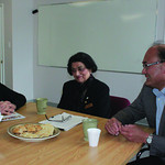 Citizen staff photo Prince George-Valemount MLA Shirley Bond, IMSS executive director Baljit Sethi and Minister of State for Multiculturalism John Yap in conversation at the IMSS office May  ...